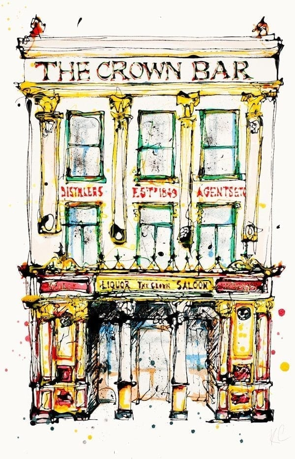 'The Crown Bar Belfast'