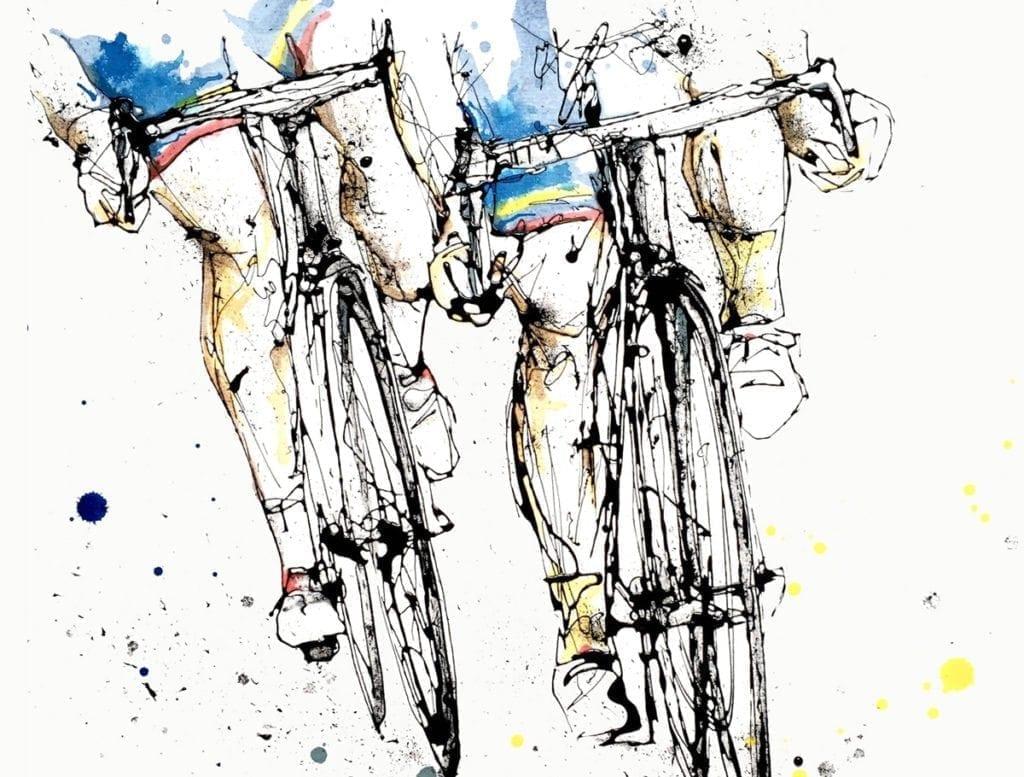 cycling_kathryn_callaghan_fine_art