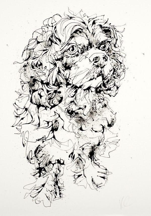 dog_kathryn_callaghan_fine_art