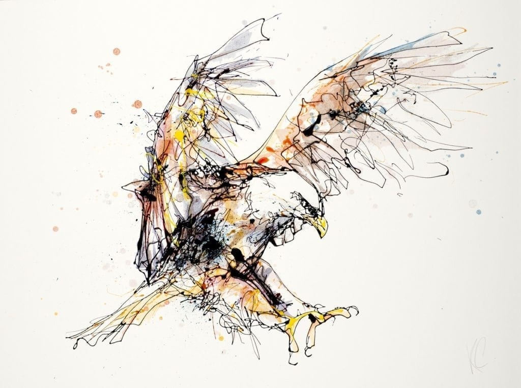 eagle_kathryn_callaghan_fine_art