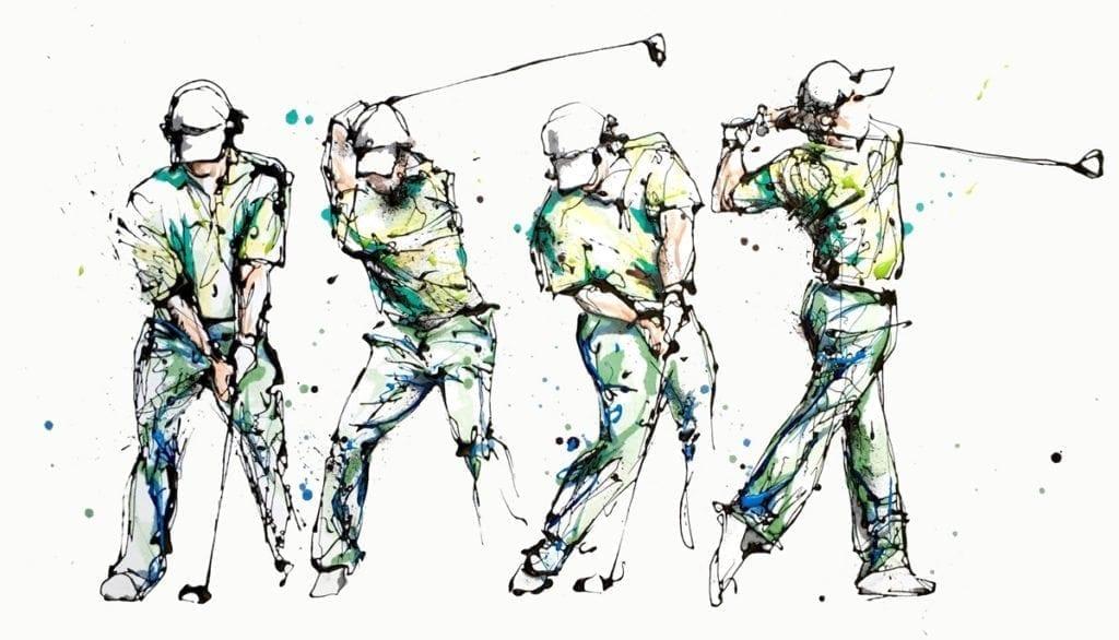 golf-swing_kathryn_callaghan_fine_art