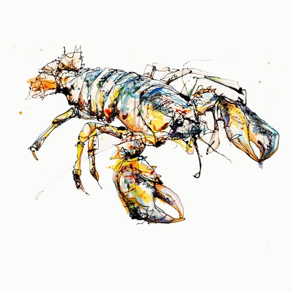 lobster_kathryn_callaghan_fine_art