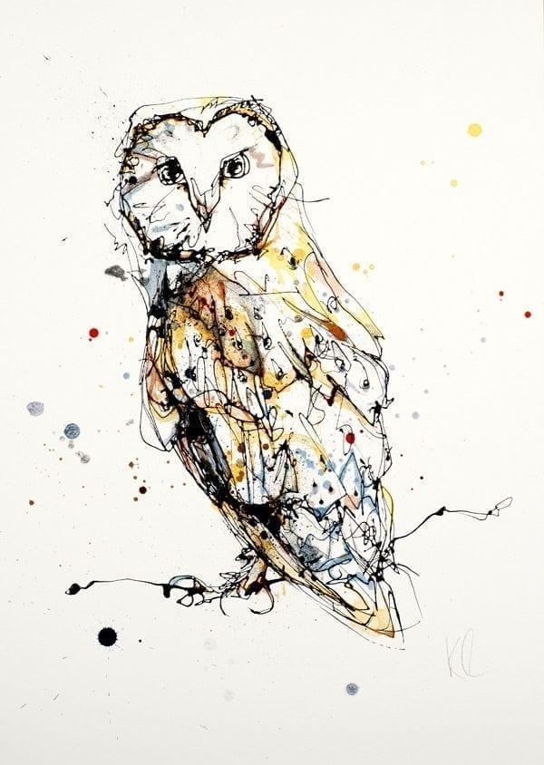owl_kathryn_callaghan_fine_art
