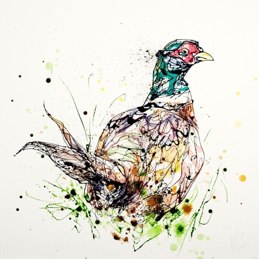 pheasant_kathryn_callaghan_fine_art