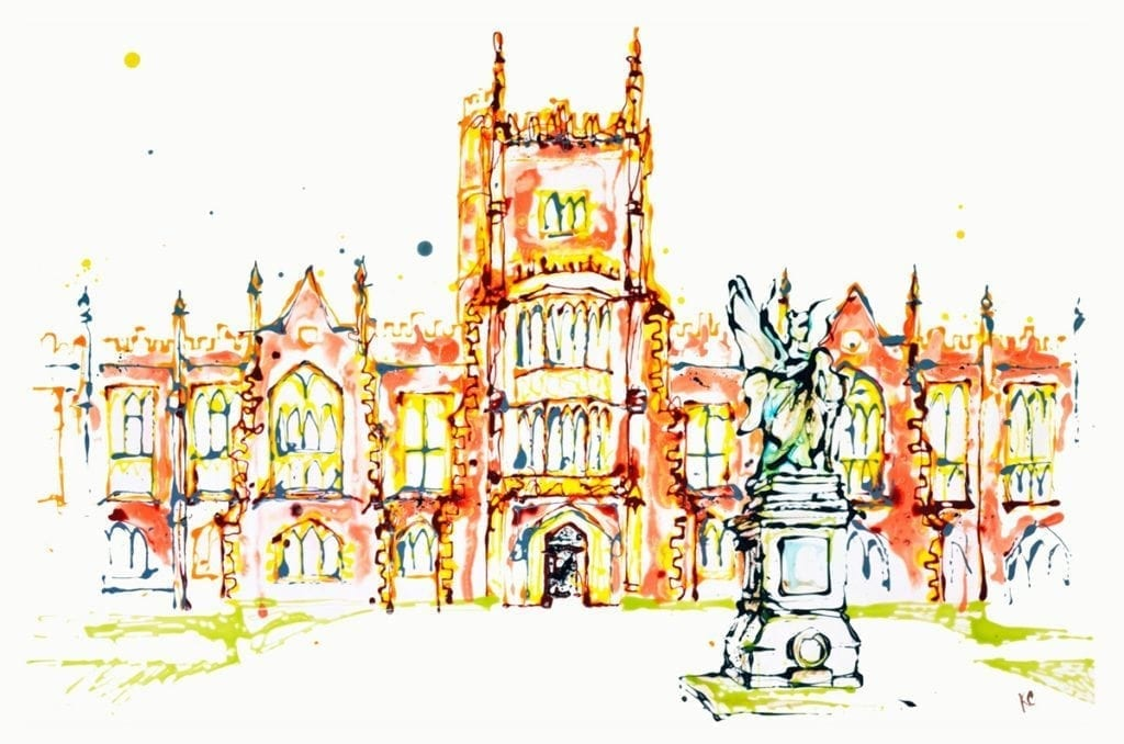 'The Lanyon Building' Queens University Belfast