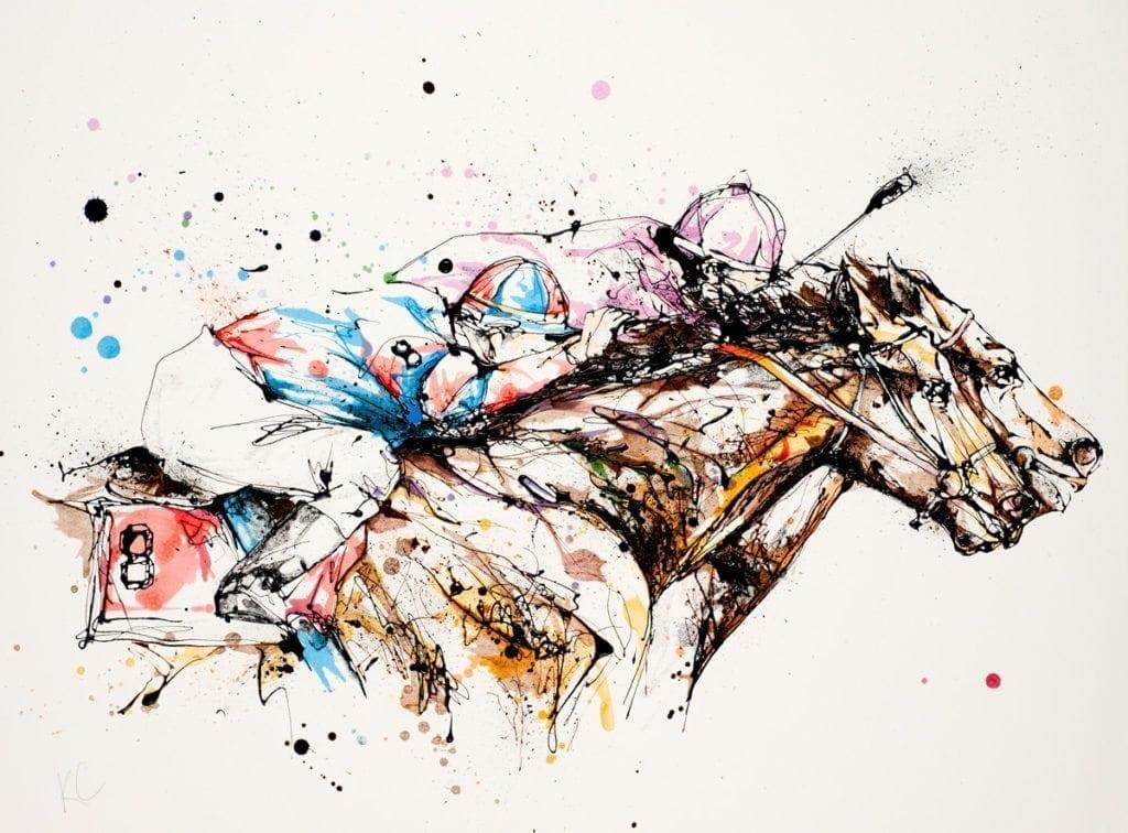 racehorse_kathryn_callaghan_fine_art