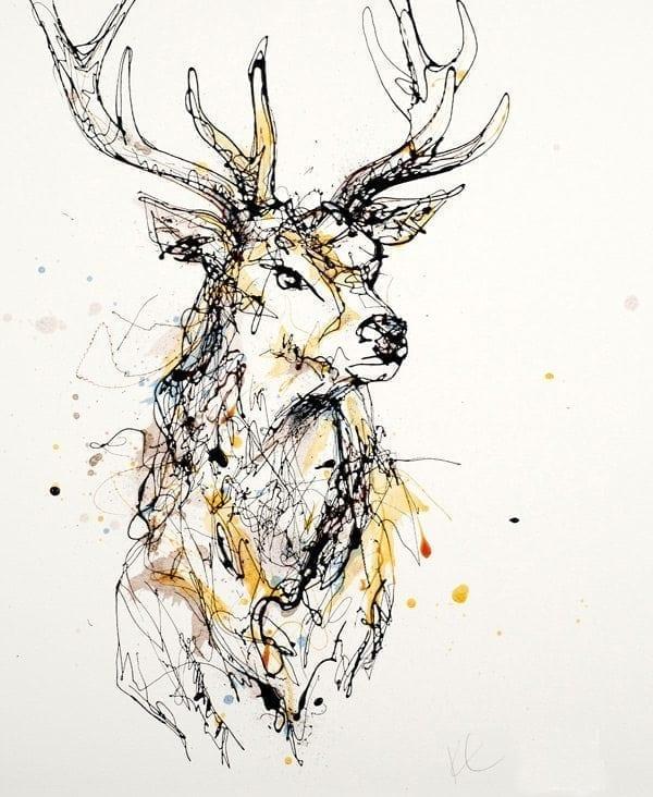 stag_kathryn_callaghan_fine_art