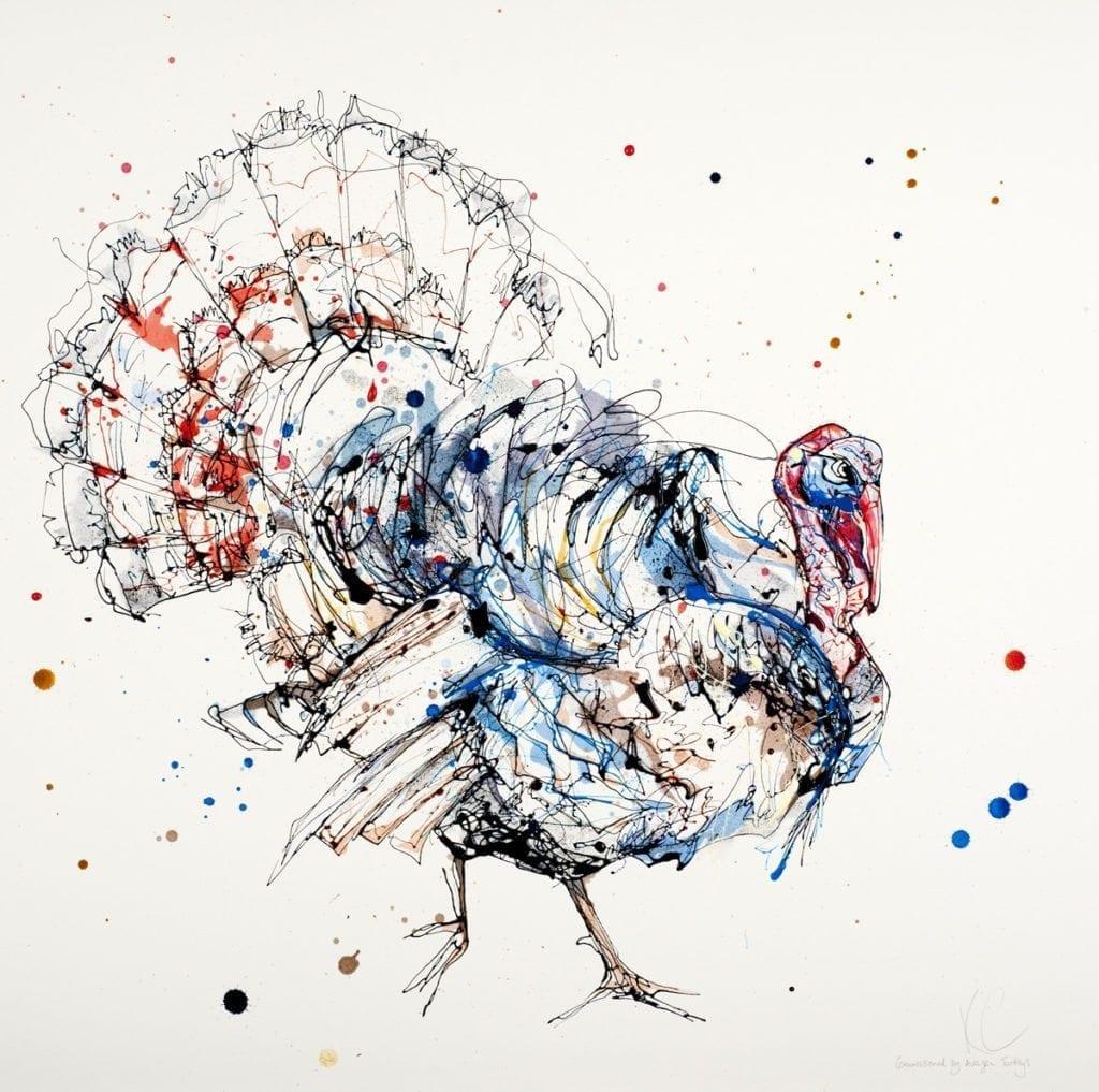 turkey_kathryn_callaghan_fine_art