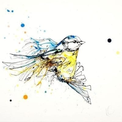 Flight - painting by Kathryn Callaghan