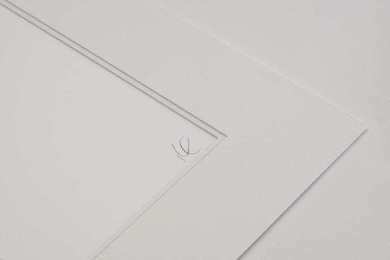 Close Up Image of the Mount used for Paper Prints