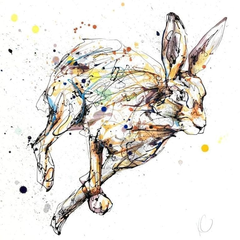 running hare by kathryn callaghan