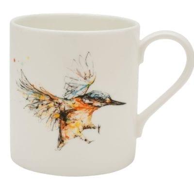 Kingfisher mug by Kathryn Callaghan