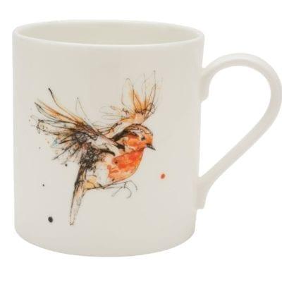 Robin mug by Kathryn Callaghan