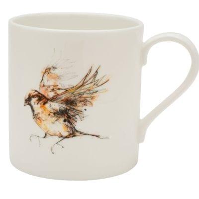 Sparrow mug by Kathryn Callaghan