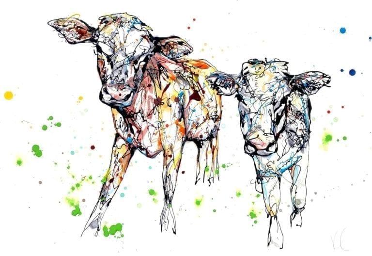 calves by Kathryn Callaghan