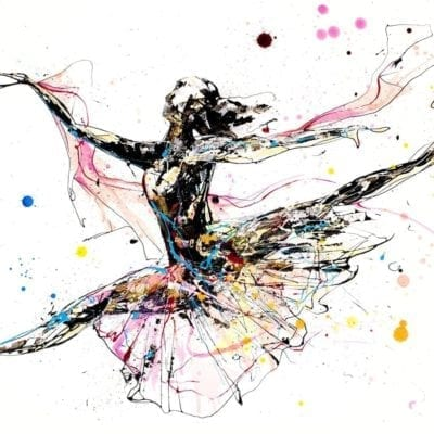 beautiful dancer print