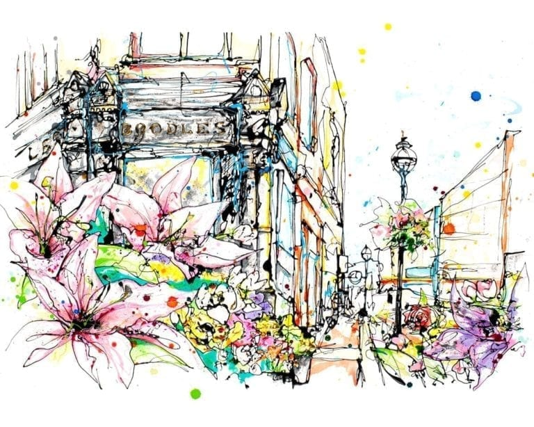 art print grafton street dublin