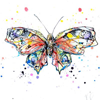 butterfly miniature original