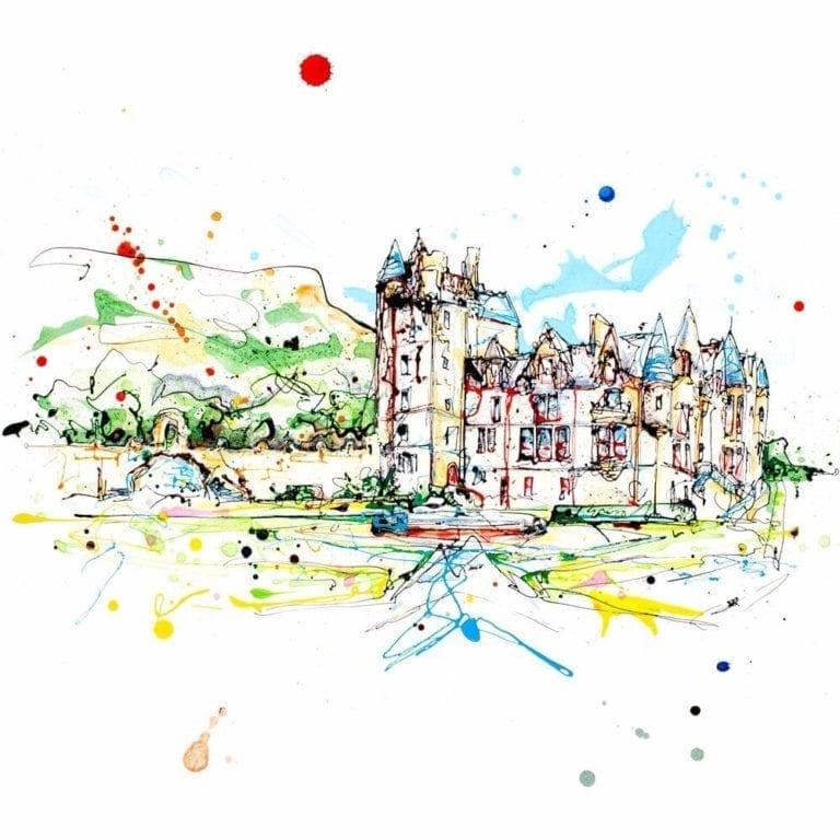 belfast castle print