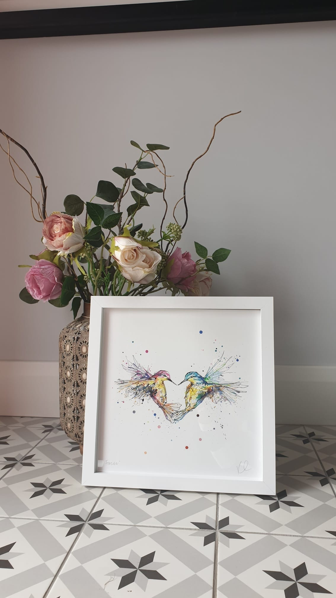Forever Print open edition hummingbirds