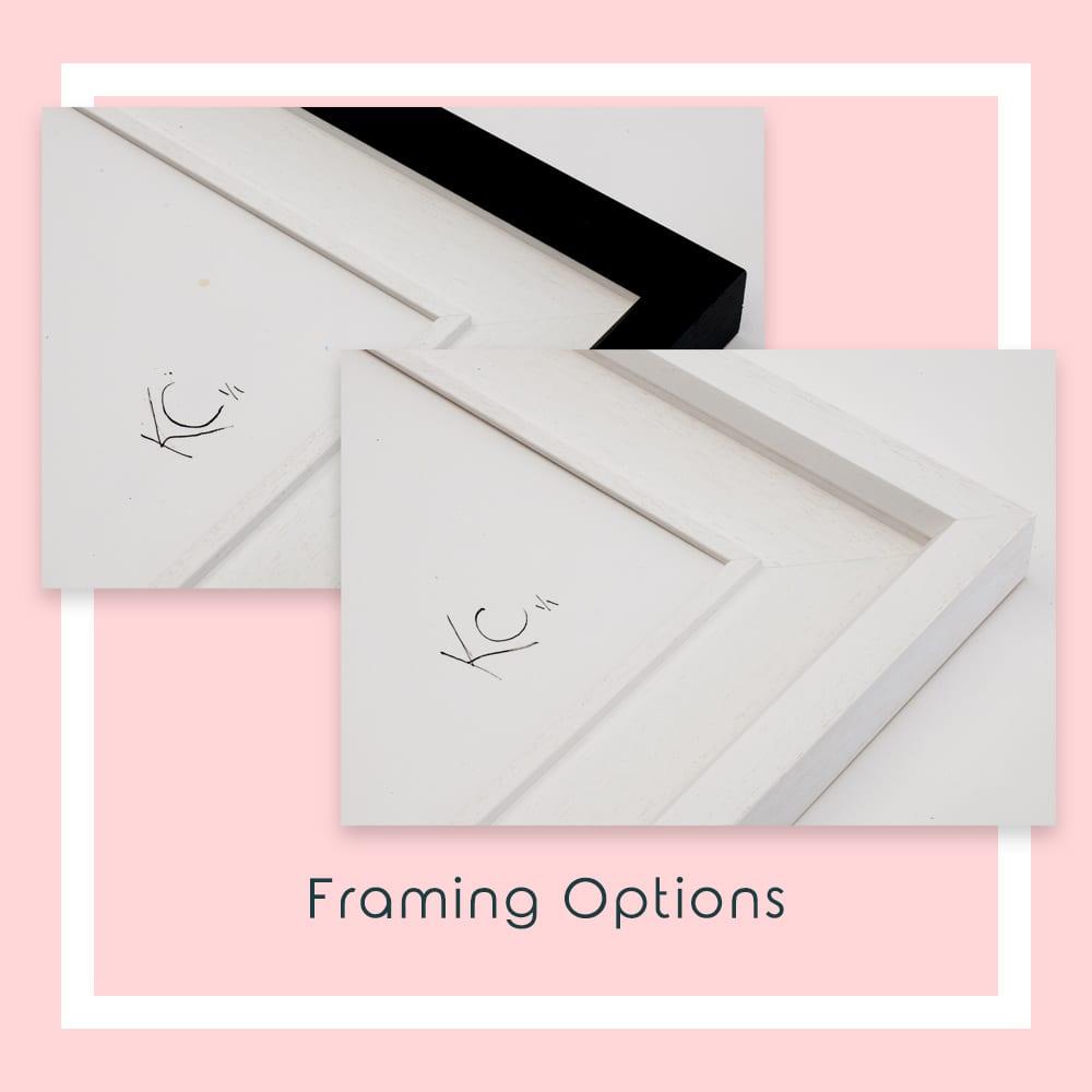 Framing Options for Enchanted Garden